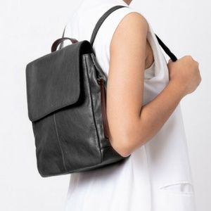 FOSSIL SHB1932001 Claire Backpack Black Leather